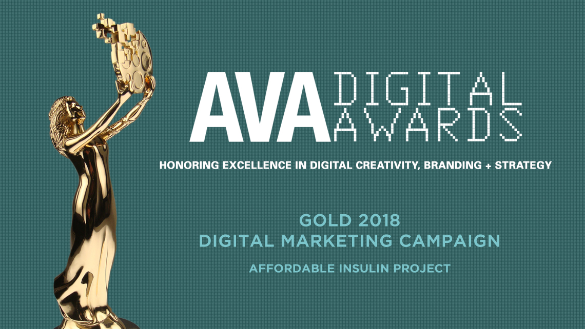 AVA Digital Awrds: Gold 2018 Digital Marketing Campaign